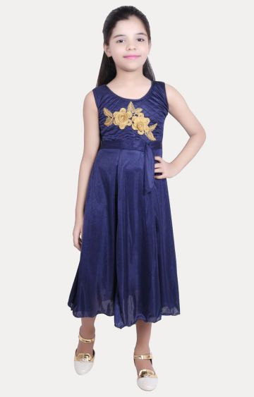 KBKIDSWEAR | Navy Printed Dress