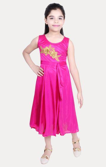KBKIDSWEAR | Pink Printed Dress