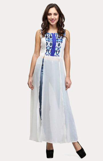 V&M | White Printed Tunic