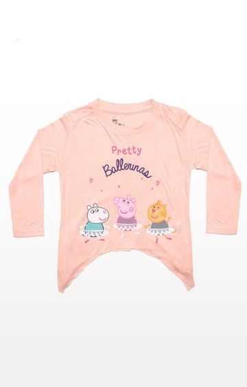 PLANET SUPERHEROES | Peach Peppa Pig - Pretty Ballerinas Top