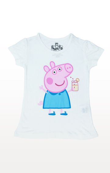 PLANET SUPERHEROES | White Peppa - Graphic T-Shirt
