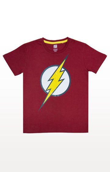 PLANET SUPERHEROES | Red Flash - Classic Logo T-Shirt