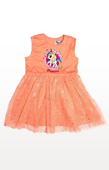 PLANET SUPERHEROES | Peach Yana Unicorn - Princess Dress