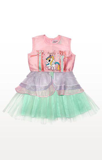 PLANET SUPERHEROES | Multicolour Yana Unicorn - Pretty Yana Dress