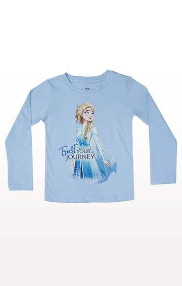 PLANET SUPERHEROES | Blue Disney Frozen - Trust Your Journey T-Shirt