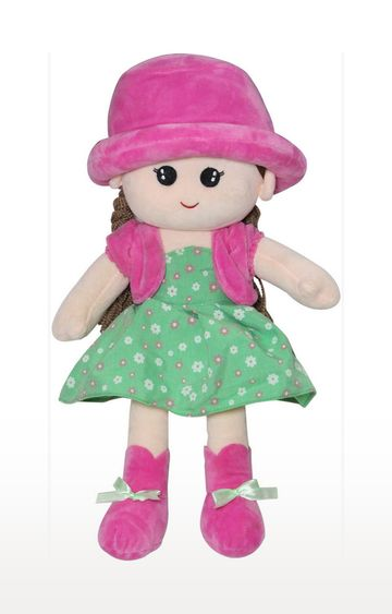 Mothercare | Soft Buddies Flamingo Doll With Round Cap