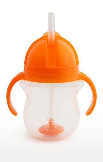 Mothercare | Munchkin 7Oz Any Angle Weightedstrawtrainer-Orange