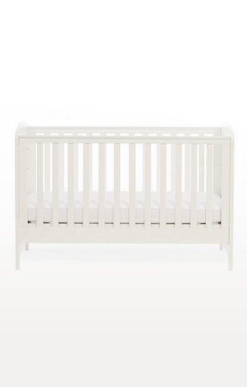 Mothercare | Padstow Cot Bed- Porcelain White