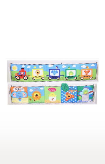 Mothercare | Biba Toys Xlarge Bed Side Playbook Bumper