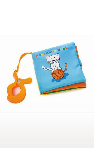 Mothercare | Biba Toys Peek-A-Boo Travel Soft Book