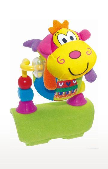 Mothercare | Biba Toys Rolling Ball Monkey Stroller Toy