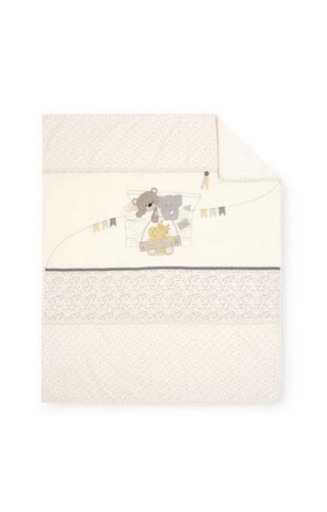 Mothercare | Teddy's Toy Box Cot Bed Coverlet