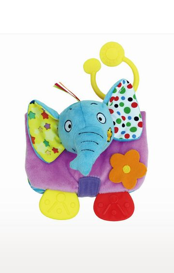 "Mothercare | Biba Toys Animals Soft BookE'Fun"""" The Elephant"