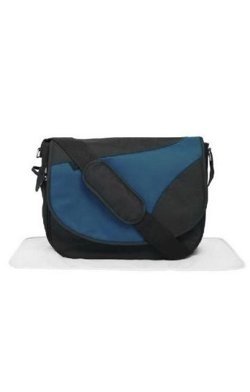 Mothercare | Teal Messenger Changing Bag