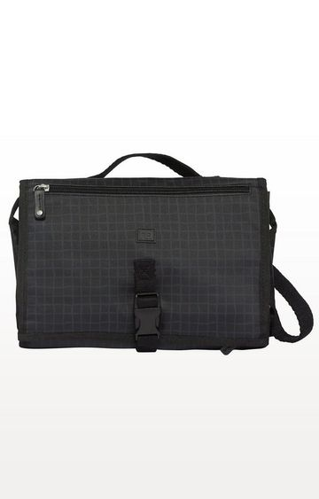 Mothercare | Grey Zinnia Changing Clutch - Crosshatch