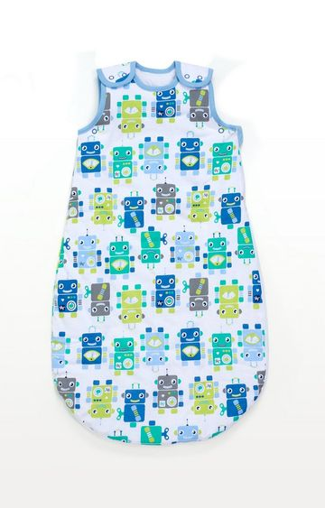 Mothercare | Multicoloureded Robots Snoozie Sleep Bag 6-18 Months 2.5 Tog