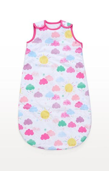 Mothercare | Multicoloureded Sunshine Snoozie Sleep Bag 0-6 Months - 1.0 Tog
