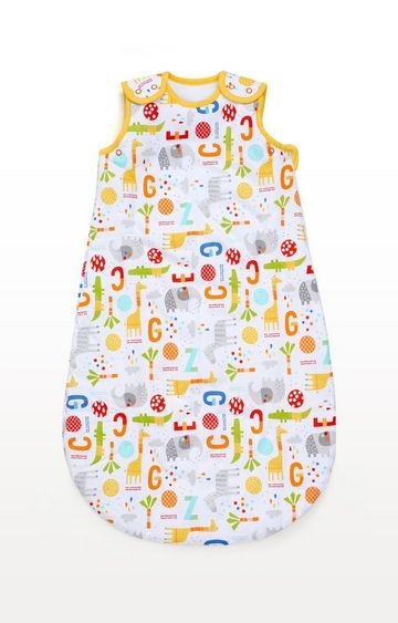 Mothercare | Multicoloureded Jungle 1.0 Tog Snoozie Sleep Bag 0-6 Months