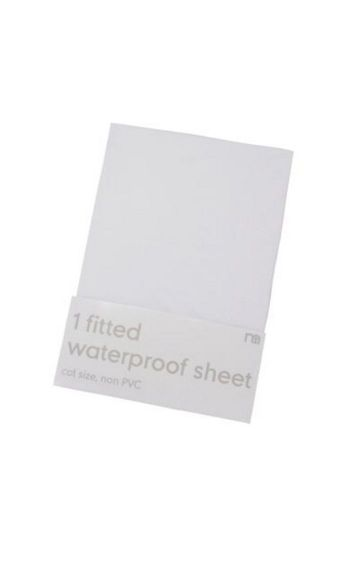 Mothercare | White Waterproof Sheet