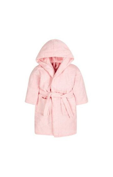 Mothercare   Pink Towelling Robe