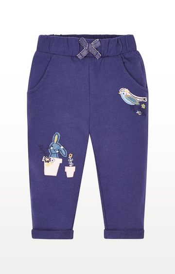 Mothercare   Navy Jersey Joggers