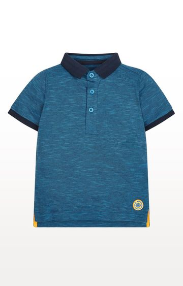 Mothercare | Striped Jersey Polo Shirt