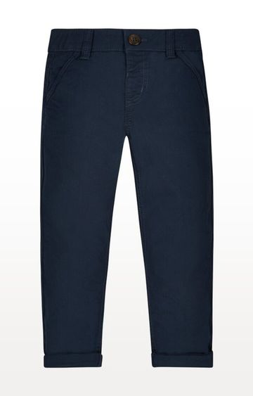 Mothercare | Navy Printed Chinos