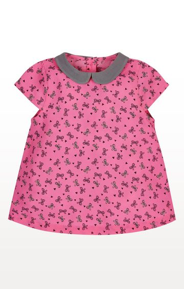 Mothercare | Pink Bow Blouse