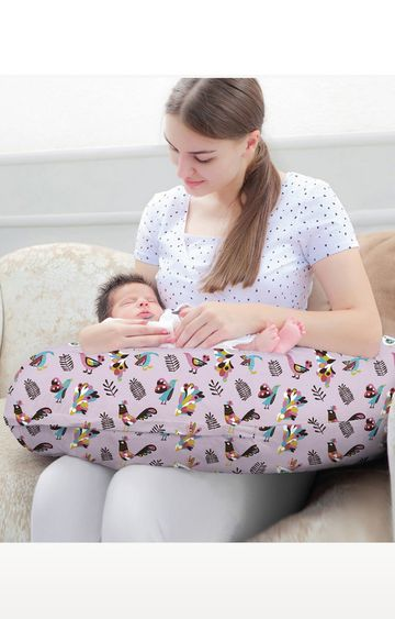 Mothercare | Rabitat 2In One Pregnancy Pillow and Feeding Pillow Magnolia