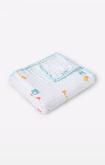 Mothercare | Mila Baby Safari Layered Muslin Blanket