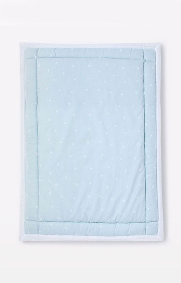 Mothercare | Mila Baby Blue Sprinkles Baby Mattress