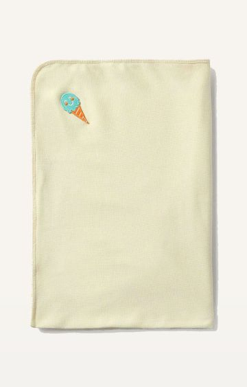 Mothercare | Mila Baby Ice Cream Cone Waffle Towel