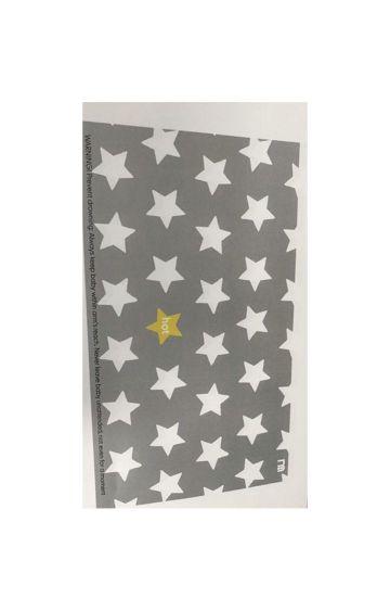 Mothercare | Grey Star Non-Slip Bath Mat