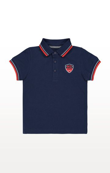 Mothercare | Navy Pique Polo Shirt