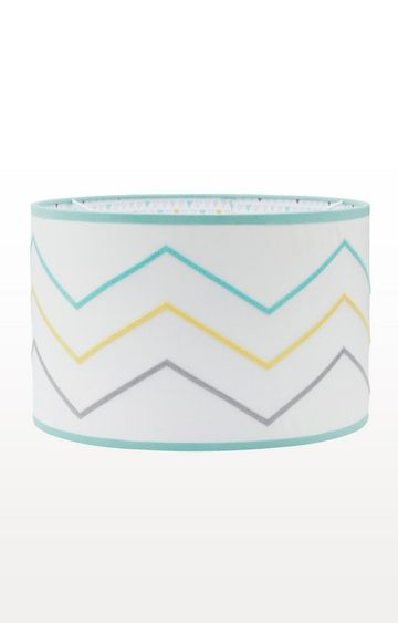 Mothercare | Green Welcome Home Chevron Light Shade
