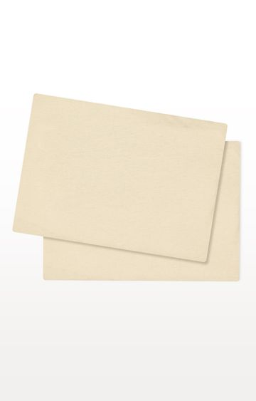 Mothercare | Cream Cotton-Rich Fitted Moses Basket/Pram Sheets - Pack of 2