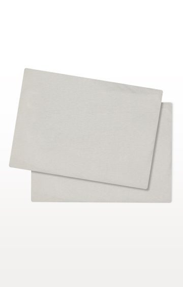 Mothercare | Grey Cotton-Rich Fitted Moses Basket/Pram Sheets - Pack of 2