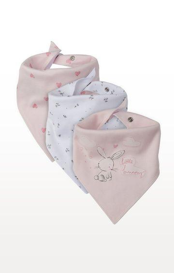 Mothercare | Bunny Dribbler Bibs - Pack of 3