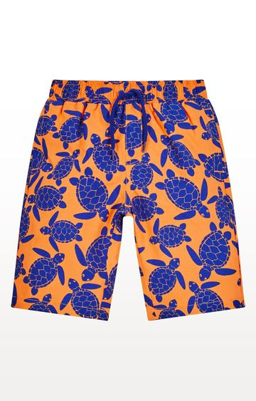 Mothercare | Orange Turtle Boardshorts