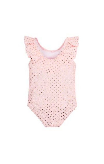 Mothercare | Pink Printed Swimsuit