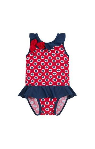 Mothercare | Red Printed Swimsuit