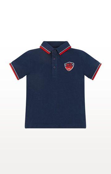 Mothercare   Navy Pique Polo Shirt