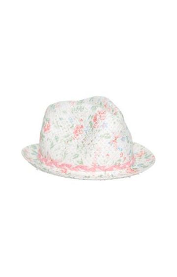 Mothercare | White Printed Hat