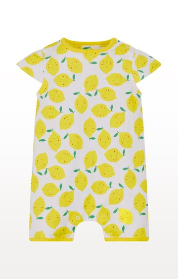 Mothercare | Yellow Printed Romper