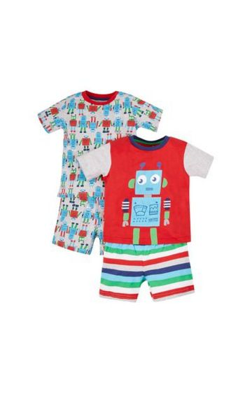 Mothercare | Red Printed Twin Set - Pack of 2
