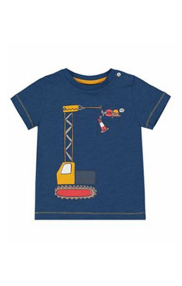 Mothercare | Blue Crane T-Shirt