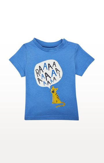 Mothercare | Blue Raaa Tiger T-Shirt
