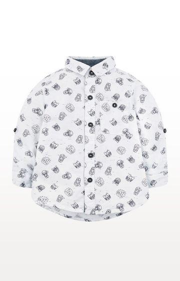 Mothercare | Grey Big Cat Shirt