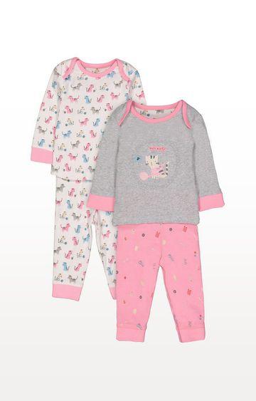 Mothercare | Crafty Kitten Pyjamas - 2 Pack