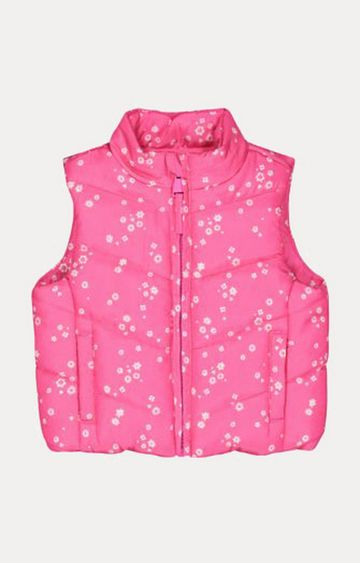 Mothercare | Pink Floral Gilet